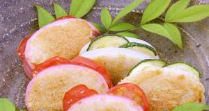Beer Snacks for Fathers Day Toasted Kamaboko Fish Cakes with Spicy Mentaiko