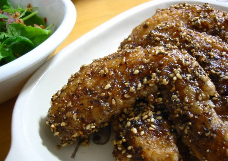 Spicy Nagoya-Style Chicken Wings