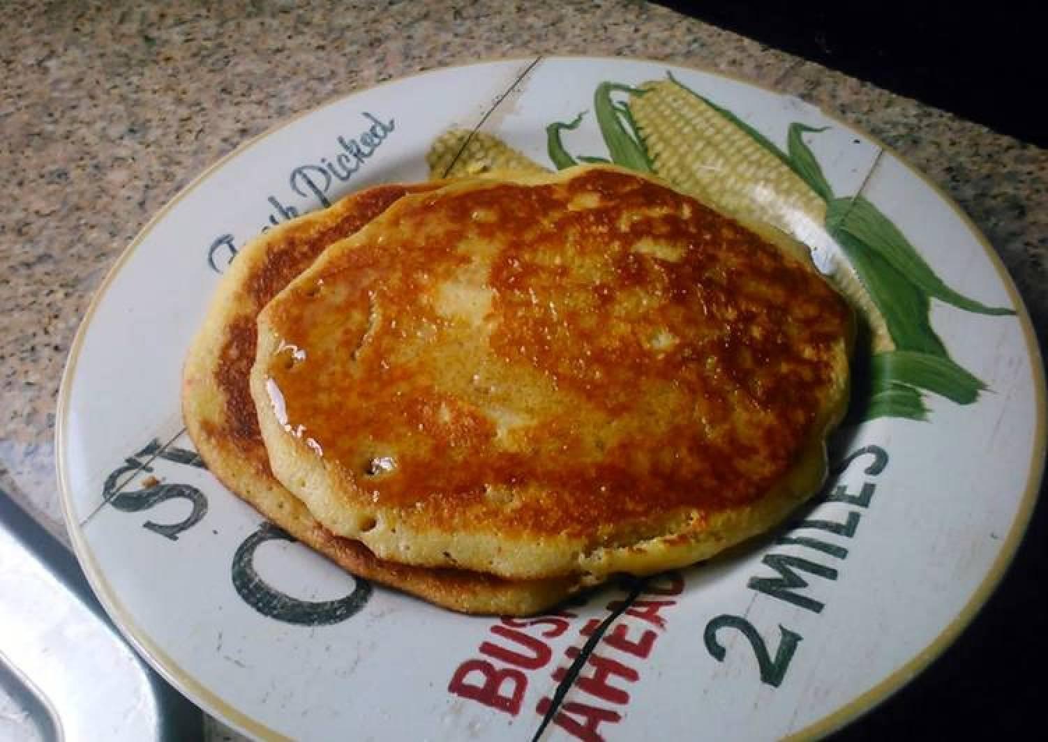 Cap'n Crunch Corn Pancakes