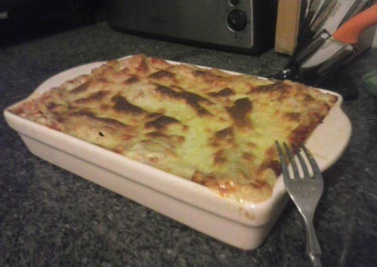 Homemade Easy Minced Beef Lasagna