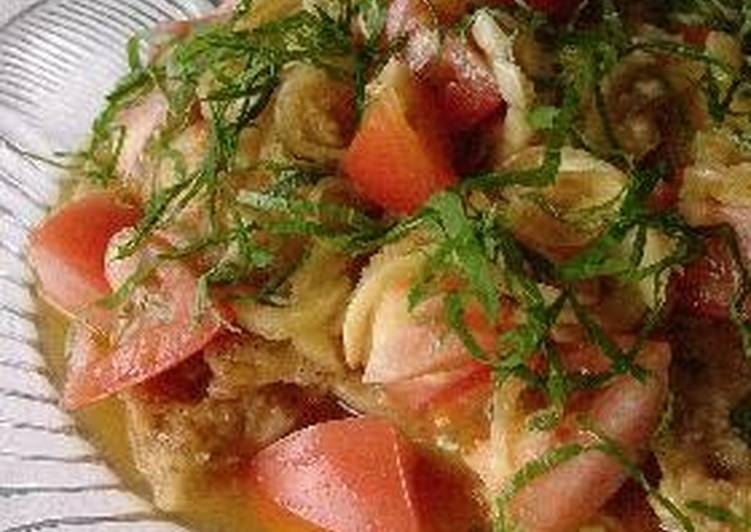 Chicken Nanban with Grated Daikon Radish