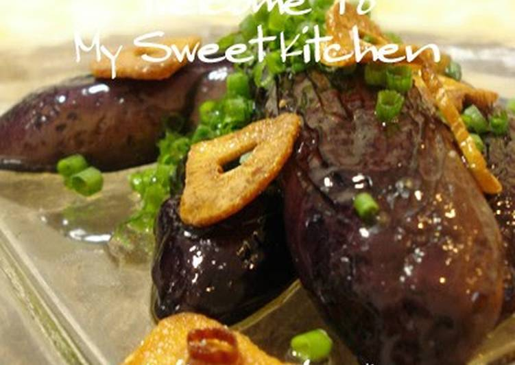 Addictive * Japanese-style Eggplant Peperoncino