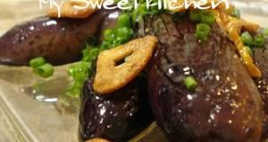 Addictive  Japanese-style Eggplant Peperoncino