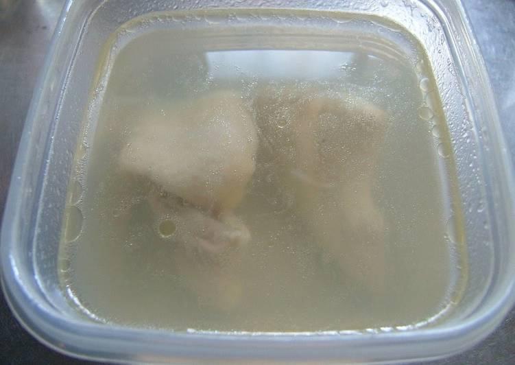 Moist Boiled Chicken