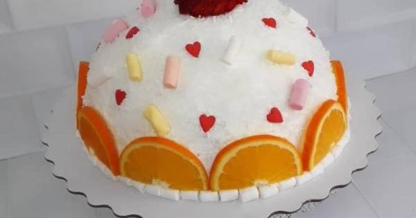 Торт с консервированными персиками, рецепты с фото (156 ...