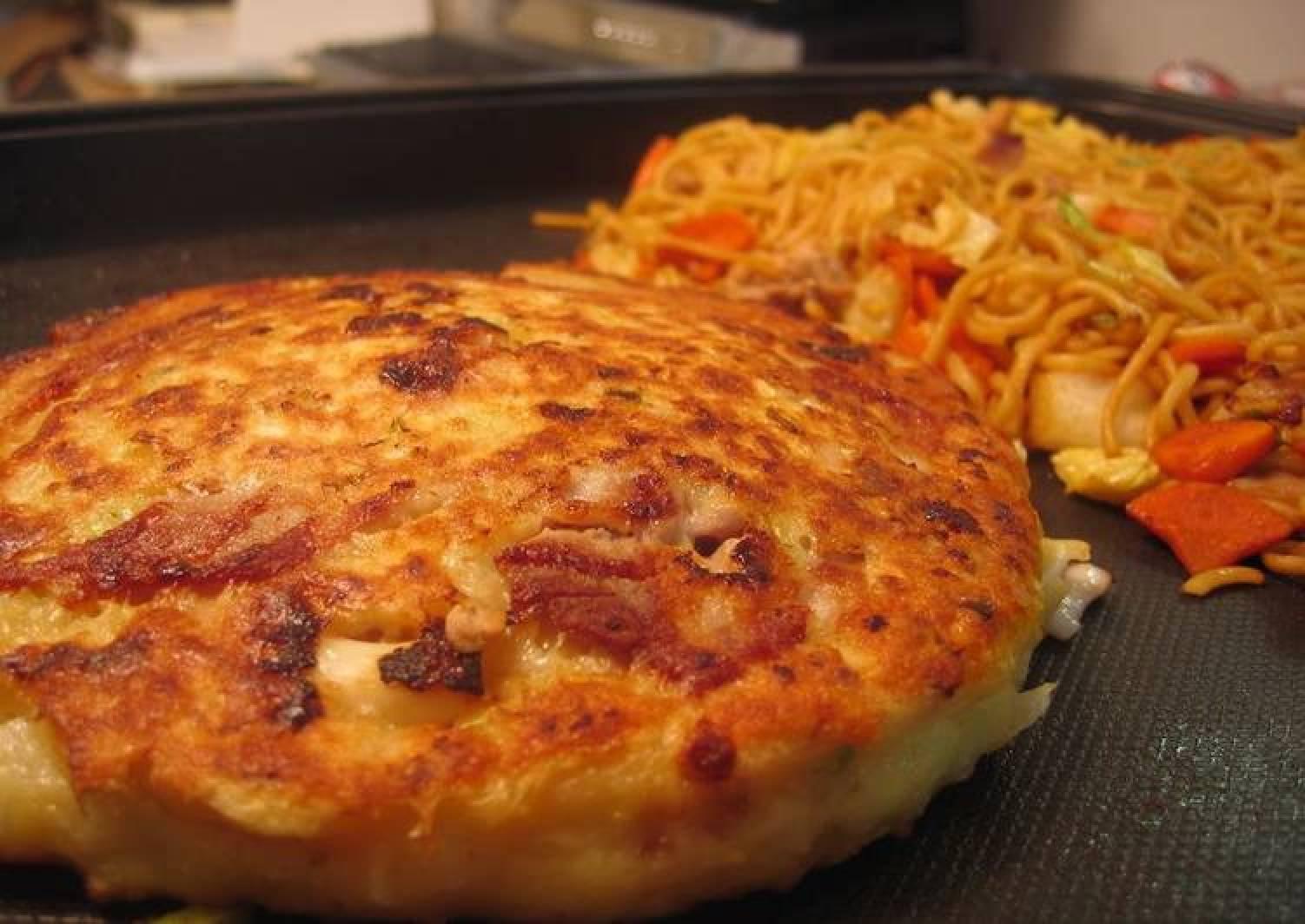Light, Fluffy, and Soft Kansai-Style Okonomiyaki