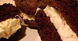 Ginormus Chocolate Whoopie Pies