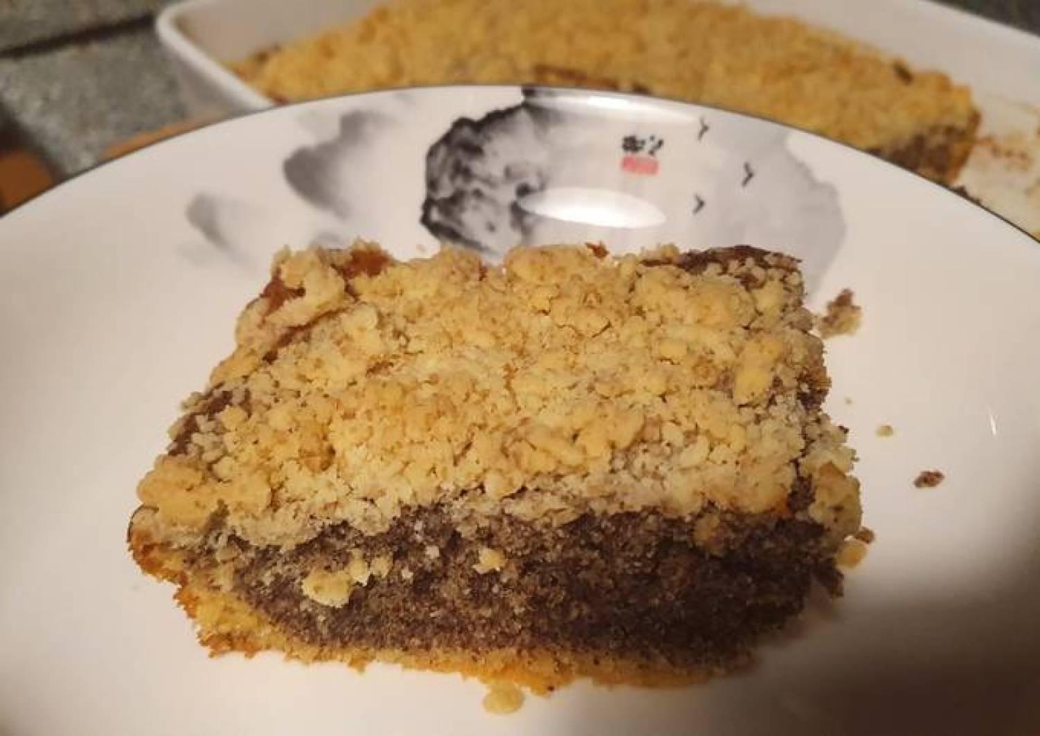 Einfacher Mohn Streusel Kuchen