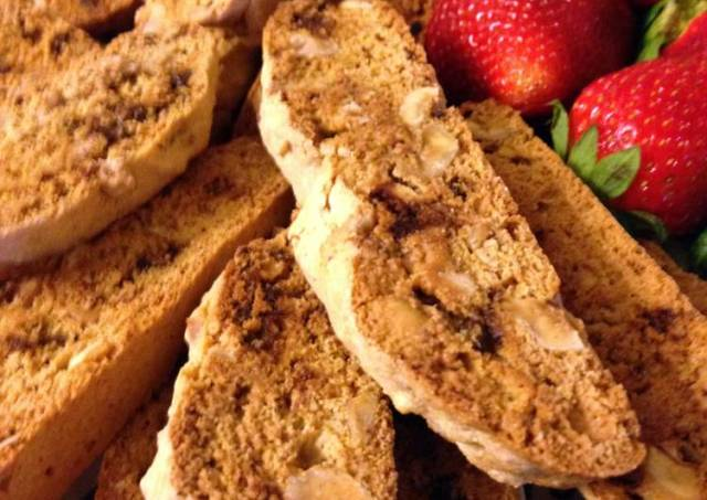 Roasted Hazelnut Biscotti