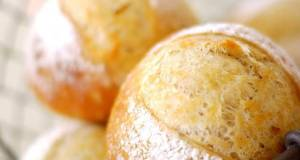 Hard Dinner Rolls with Black Pepper and Rosemary