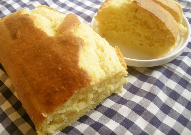My Soft and Light Tofu Cake