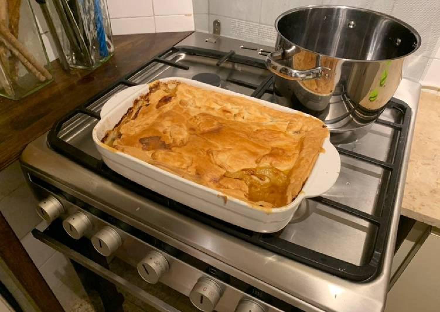 Chicken Leek Pie