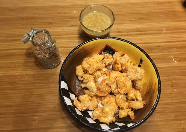 Baked Coconut Shrimp, Choosing Fast Food That's Very good For You