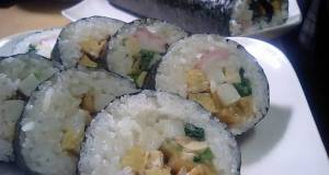 Eho Maki Rolls with Seven Lucky Fillings