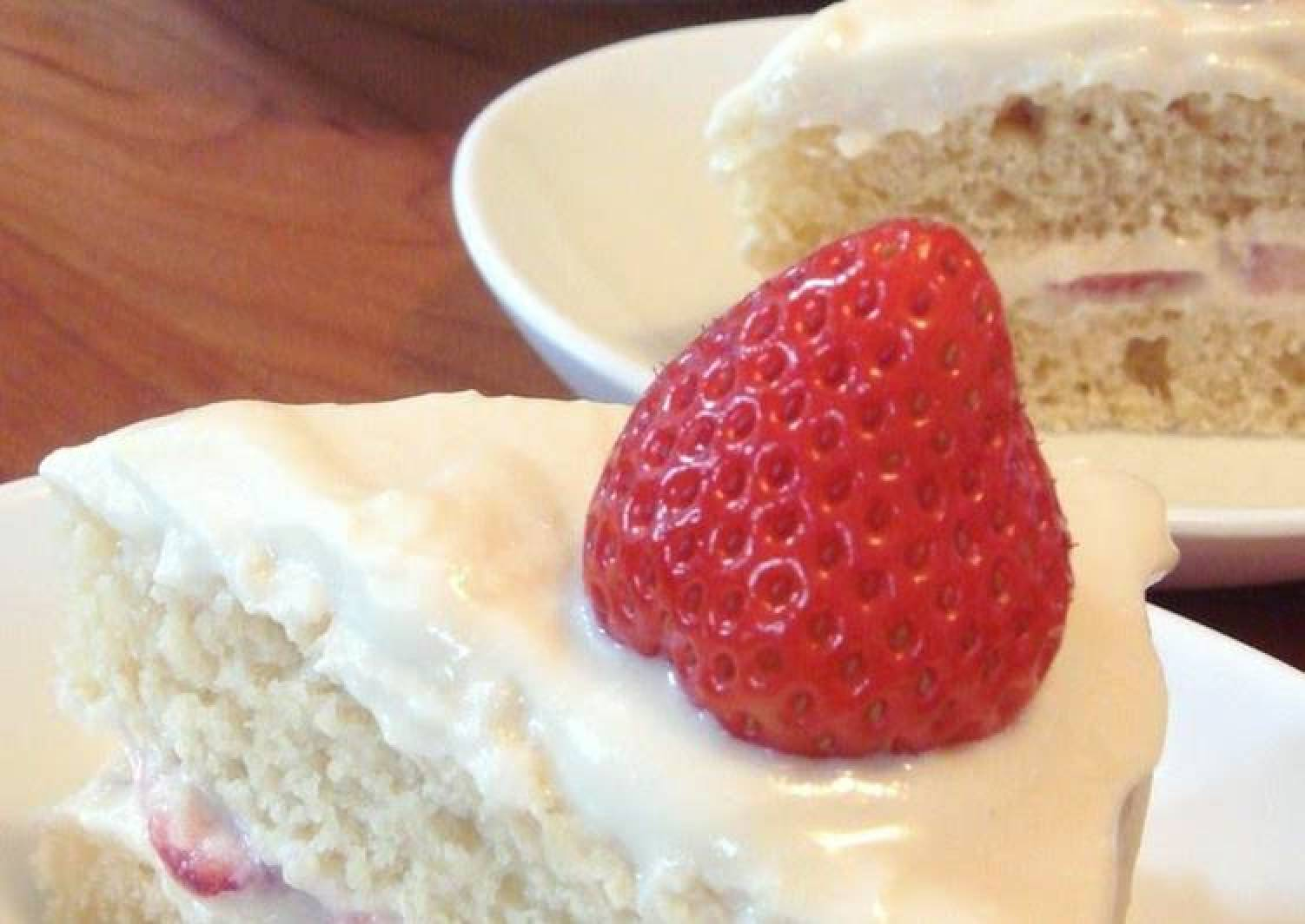 Egg & Dairy-Free Steamed Shortcake (Layered Spongecake)