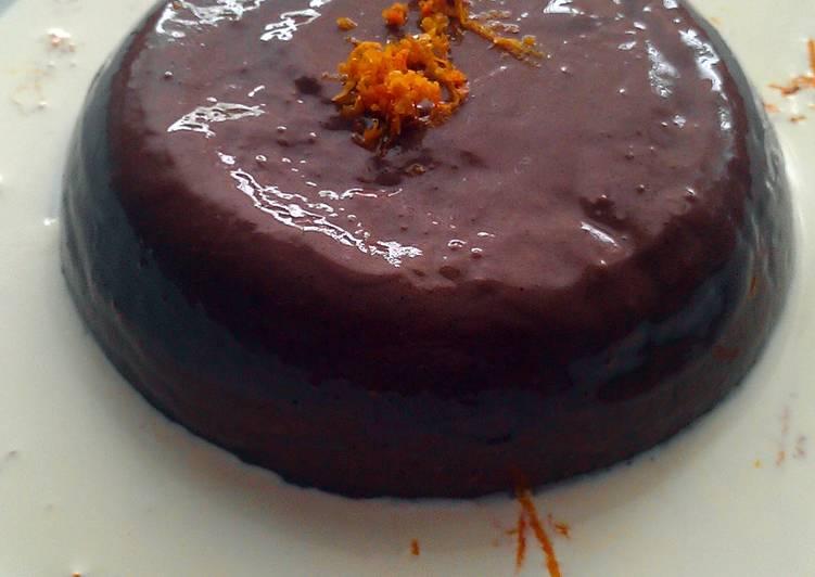 Easiest Way to Prepare Perfect Vickys Chocolate Pannacotta, GF DF EF SF NF