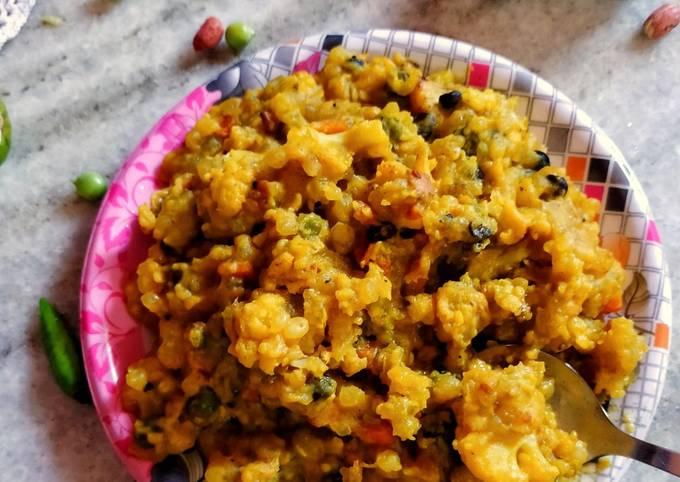 Steps to Make Perfect Sabudana Khichdi