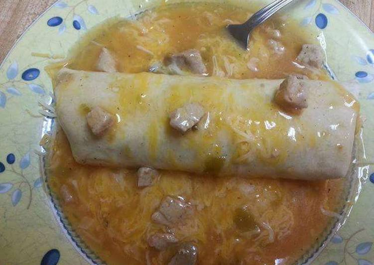 Step-by-Step Guide to Make Favorite Smothered Beef and Bean  Burritos