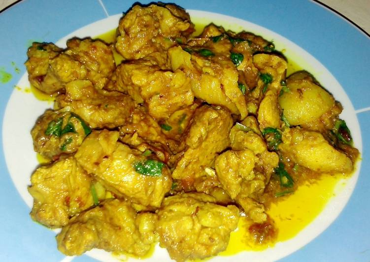 Easy Pork Curry Northeast Indian Style(super spicy)