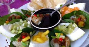 Kanyas Aroma Pomelo And Fruits AppetizerMiang Kham