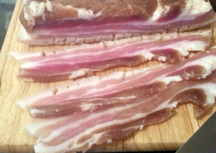 Recipe of Award-winning 10 Day Pork Belly Cure for Bacon