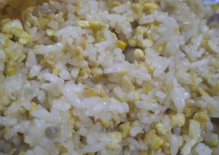 Nasi goreng bawang praktis cepat enyak