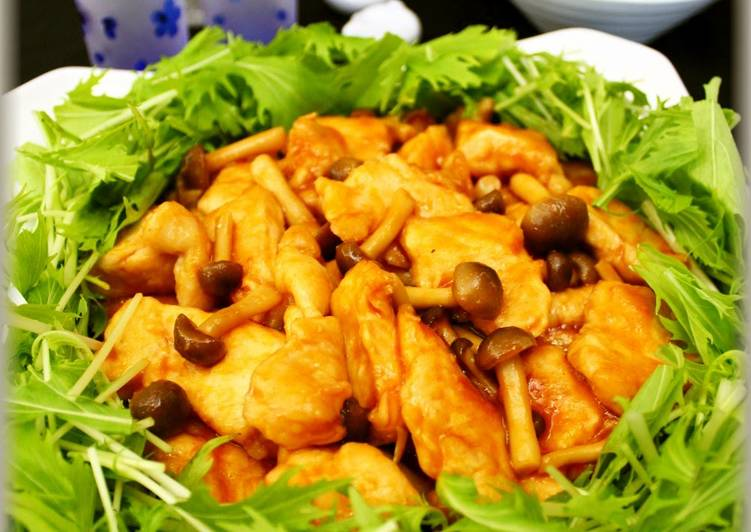 Sweet and Sour Stir-fry with Tender Chicken Breast