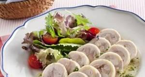 Microwaved Herb Chicken Rolls
