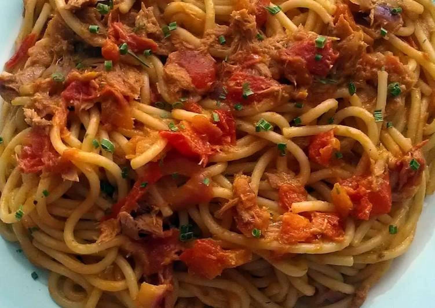 Vickys Tuna & Chilli Spaghetti, GF DF EF SF NF