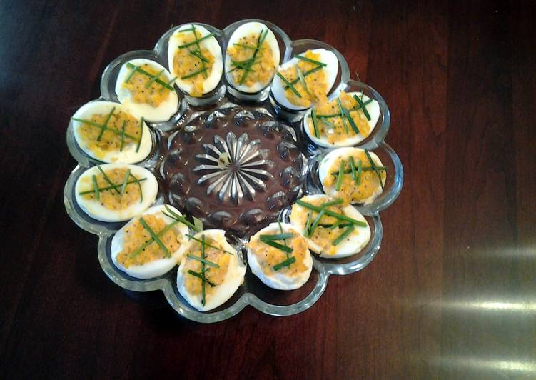 Game Day Deviled Eggs
