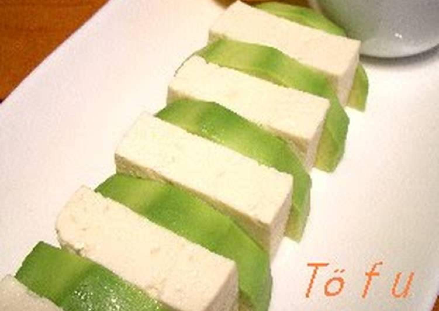 Tofu and Avocado Salad