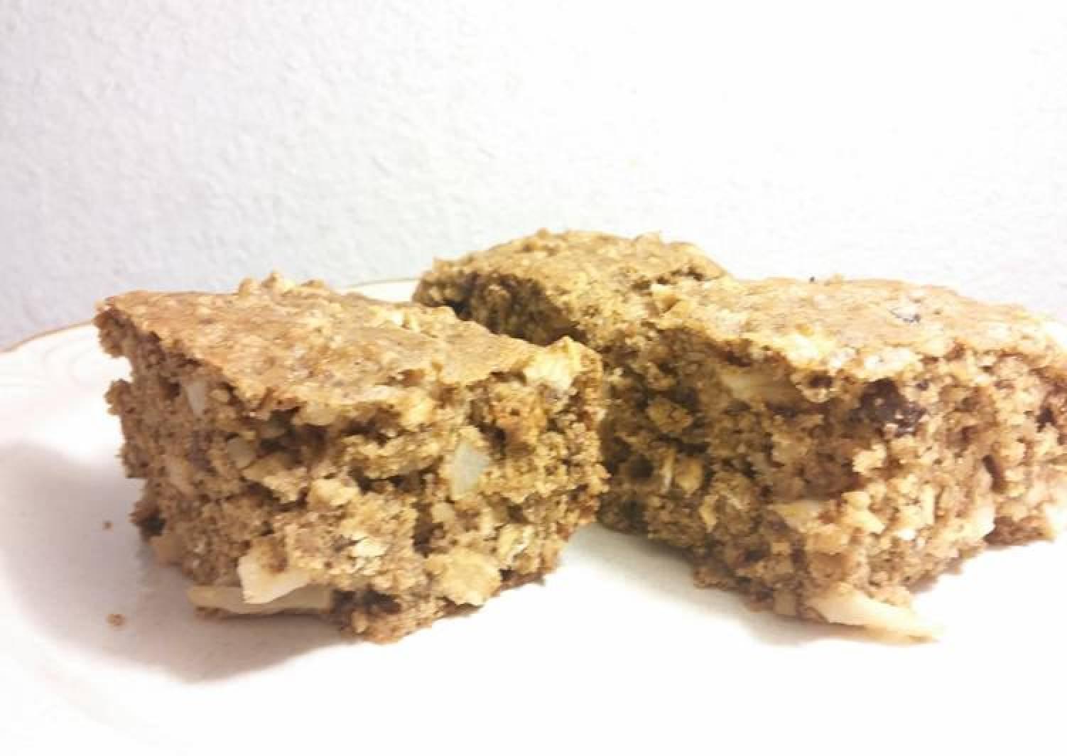 Apple-walnut breakfast cake