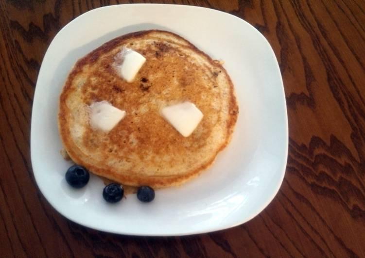 Pancakes, whole grain / buttermilk