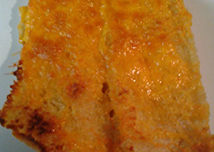 Oven cheesey bread