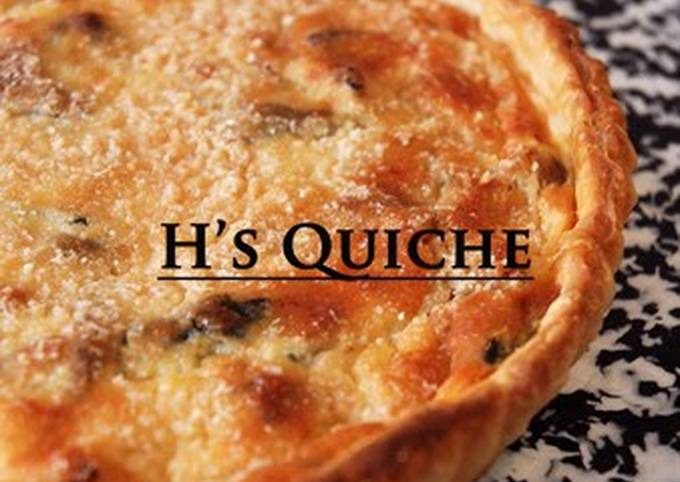 Simple Way to Prepare Favorite Bacon and Spinach Quiche