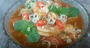Plah Koong / Thai Shrimps Salad