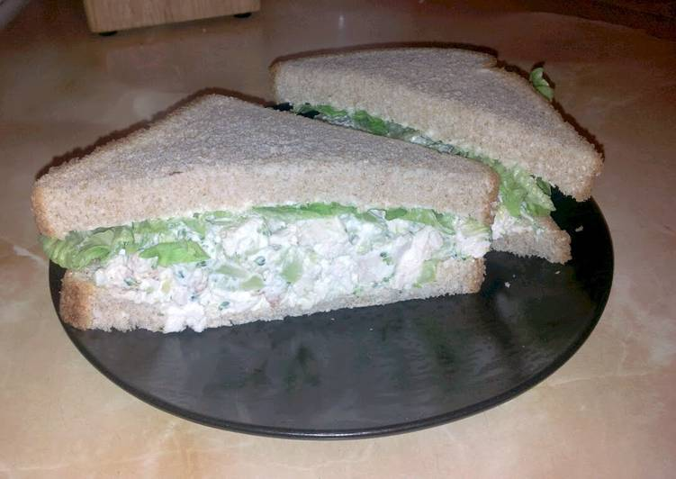 "Steps to Prepare Any-night-of-the-week Nicole's ""Chicken Salad Sandwich """