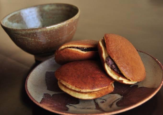 My Dorayaki (Red Bean Paste Pancake)
