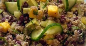 Vickys Aduki Bean Mango  Quinoa Salad GF DF EF SF NF