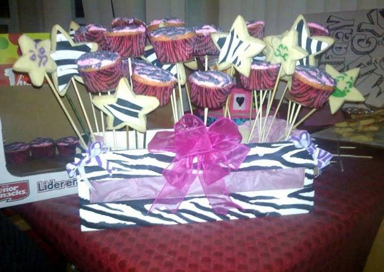 Edible party center pieces