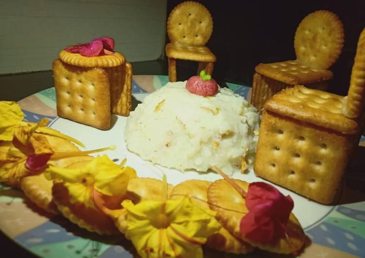 Rice phirni cake