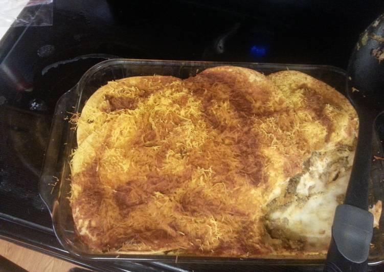 Recipe of Perfect Enchilada casserole