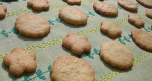 Crunchy Cookies with g of Butter