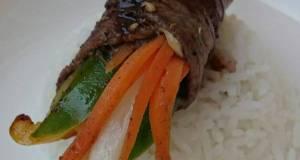 Teriyaki Beef Roll