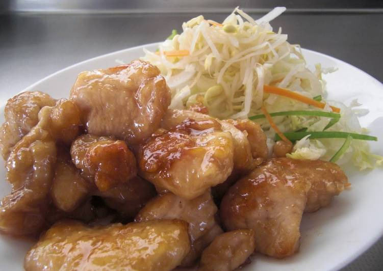 Chicken Breasts with Pickled Plum Sauce