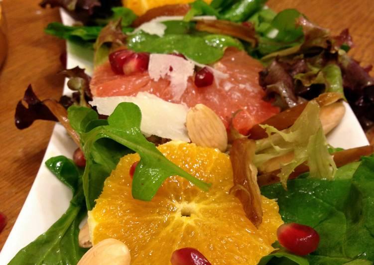 Citrus Fruit Marcona Almond Salad