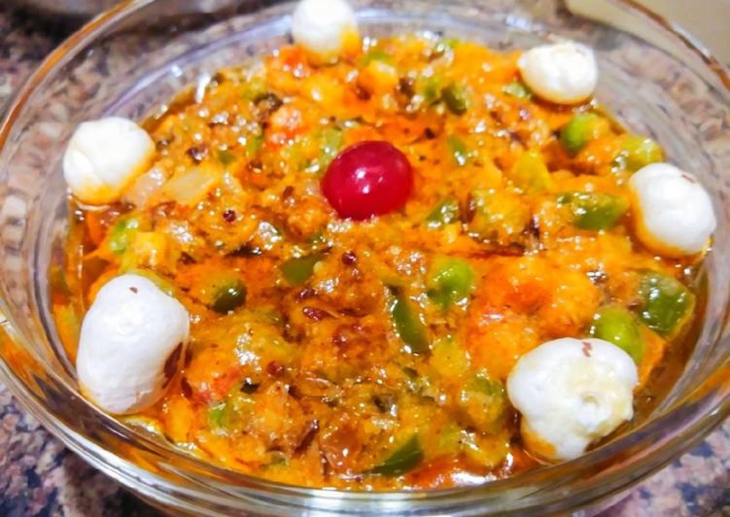 Peas Fox nuts Curry