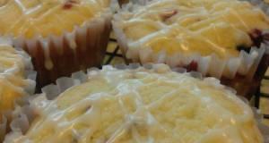 Cream Cheese- Cranberry Muffins