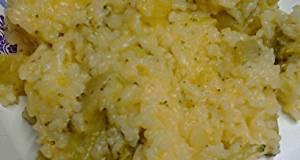Dreamy Creamy Cheesy Broccoli and Rice