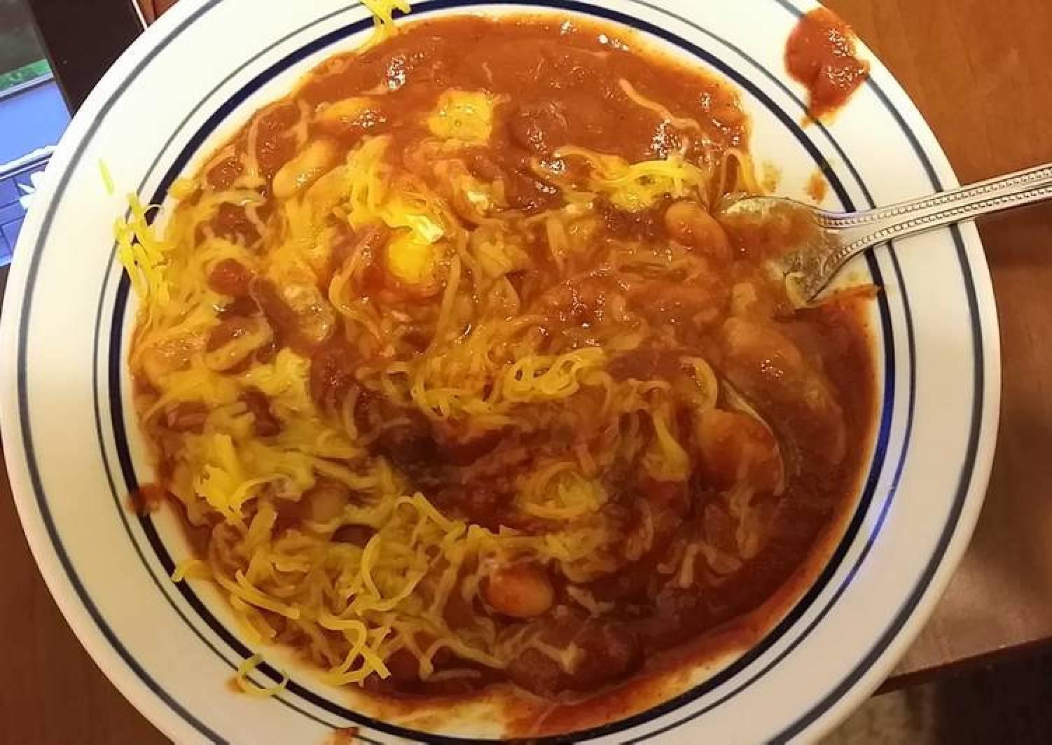 Taisen's 5 bean chili